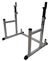 professional Multi-function squat rack with adjustable TDS rack Used as barbell racks, bench presses, squat racks and more.