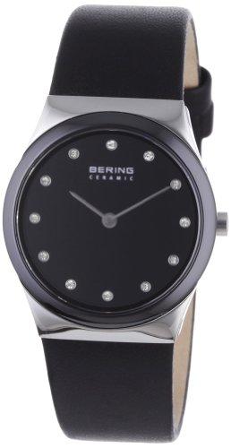 BERING Damen-Armbanduhr Analog Quarz Leder 32230-442