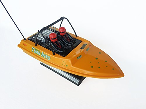 RC NQD Tear Into Fast Speed Racing Boat Remote Control Water Jet Boat YELLOW