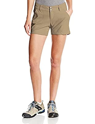 Columbia Women's Standard Saturday Trail Short, British Tan, 10x5