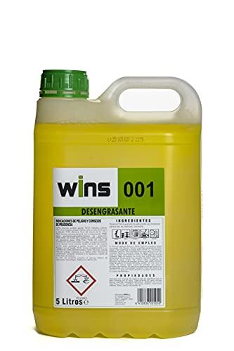 Wins - Desengrasante Limpiador Profesional 001 - Garrafa 5L