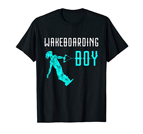 Wakeboarder Jungs Wakeboarding Boy Wakeboarden Wasserski T-Shirt