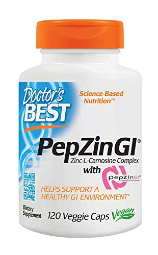 Doctor's Best Pepzin Gi - 120 Vcaps 120 Unidades 120 g