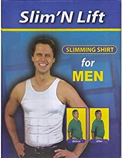 Slim 'N Lift Slimming Shirt for Men - Medium