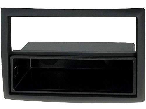 Facade Autoradio Megane 2 02-09 - Noir Avec vide-poche