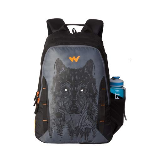 Wildcraft 44 Ltrs Casual Backpack (11629-Wolf_Black)