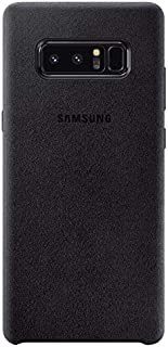 Samsung Galaxy Note 8 Alcantara Cover - Black