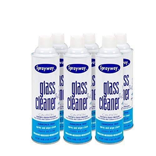 Sprayway Glass Cleaner  6 Cans