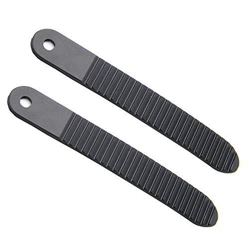 UP100 1 Paar Snowboard Binding Ladder Straps für Ratsche Knöchel Zunge Länge 6,7 Zoll schwarz
