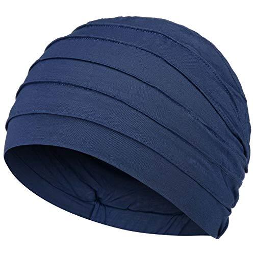Christine Headwear Yoga Turban, onkologische Mütze mit hypoallergenen Bambus, Grau One size
