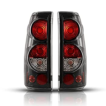 Tail Light Assembly for 1999-2006 Chevy Silverado 1500 2500 3500 / 2007 with Classic Body Style / 1999-2002 GMC Sierra 1500 2500 3500 Pickup Replacement Rear Lamp Brake Lights