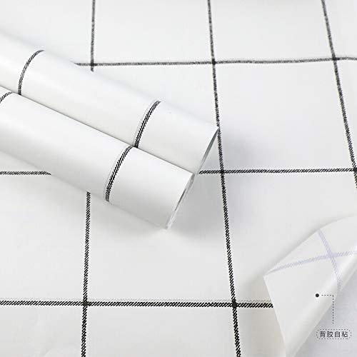 Papier décoratif Autocollant Mural Auto-adhésif Papier Peint étanche Et étanche à L'humidité Papier Peint Autocollant Mural Autocollant Meubles TV Fond Mur Chambre Rénovation Film Autocollant 0.45 * 1