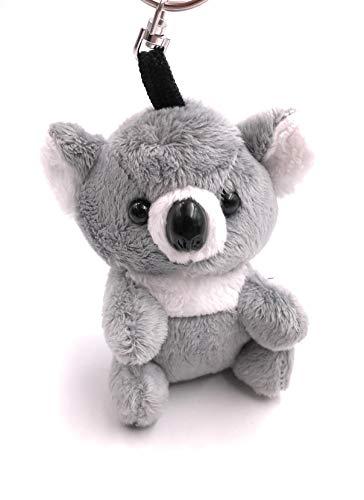 Onwomania - 'Marsupial Gris Koala Llavero: Amuleto de la Suerte de Felpa, Ejemplo, para el Mejor Amigo, el Mejor Amigo, mamá, para Hombres, Mujeres y niños
