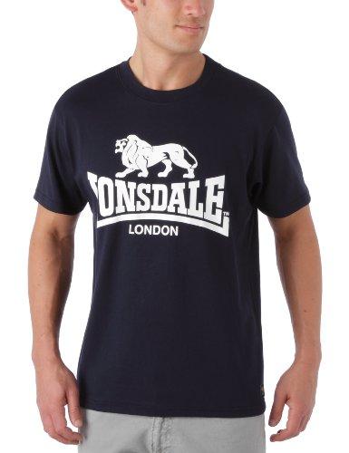 Lonsdale Herren Sport Shorts T-Shirt Promo, marineblau, Medium
