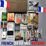 RCIR French Armed Forces [24 hr combat ration] pack MRE ARMY MEAL Emergency Set Food MILITARY Authentic 2