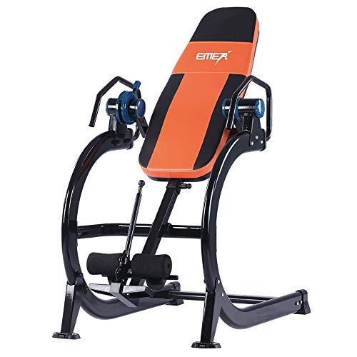 Big seller Tabla inversión Tratamiento eficaz Plato herniado, Dolor de Espalda, Ups hacia atrás - Carga máxima 150 kg (Color : Orange)