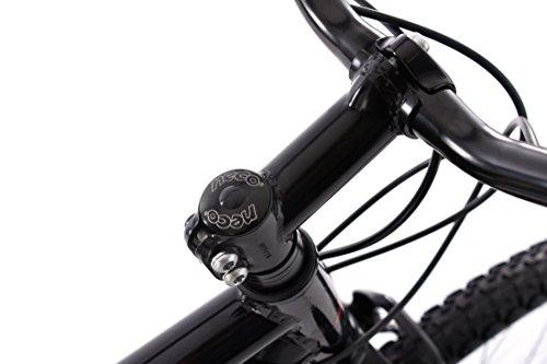 KS Cycling Mountain Hardtail Carnivore Alu-Rahmen Fahrrad, schwarz, 27,5 Zoll - 4
