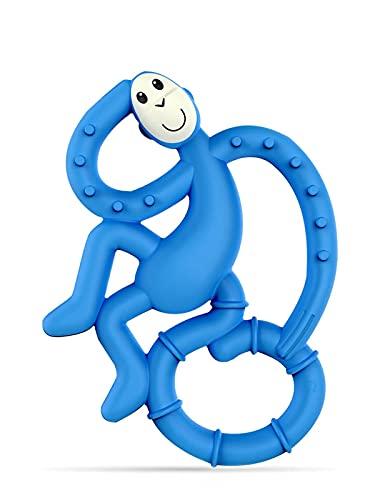 Matchstick Monkey Mini Monkey Teether, Blu