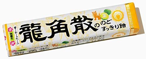 龍角散 龍角散ののどすっきり飴 シークヮサー味 スティック 10粒×10本