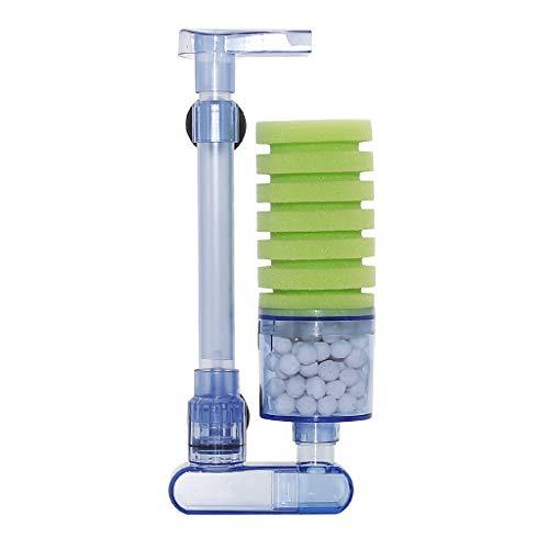 boxtech Aquarium Filter, Zubehör für Aquarium Filter, leiser Biorb Filter für kleine und große Aquarien (Single Sponge Green)