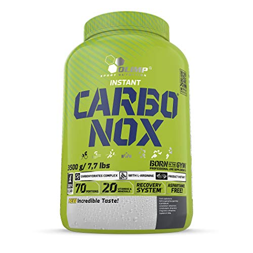 Olimp Sport Nutrition Carbonox Suplementos de Carbohidratos para Deportistas Sabor Naranja - 3.5 kg
