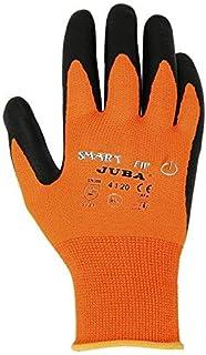 Juba - Guante smart tip nylon nitrilo foam palma talla 9