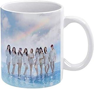 Niziu スタバ マグカップ 耐熱スタバ マグカップ コーヒー グッズ 陶器 グラスグリーン 大容量 真空断熱 ギフト 優先ギフト 美しいパッケージ 330ml