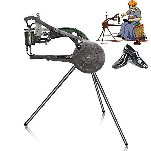 ZXMOTO Cobbler Sewing Machine Manual Leather Cobbler Shoe Repair Machine Dual Cotton Nylon Line Sewing Machine