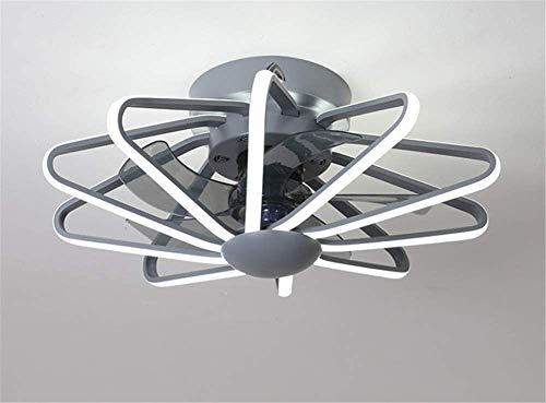 Techo moderno de la lámpara, a distancia de control de techo regulable Luz 3 velocidades del viento, de techo ventilador silencioso, restaurante decoración interior iluminación Ventilador Dormitorio