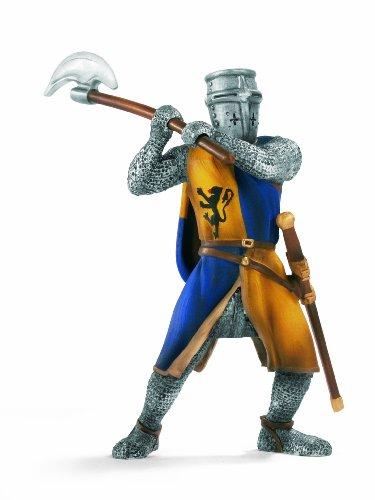 Schleich 70003  - Ritter, Fußsoldat mit Streitaxt