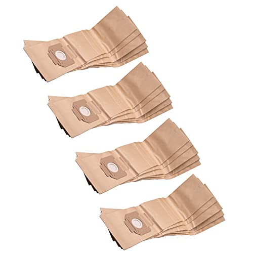 vhbw 20x bolsa compatible con Makita 441, 442, 447, 447 L, 447 MX aspiradora - papel, marrón