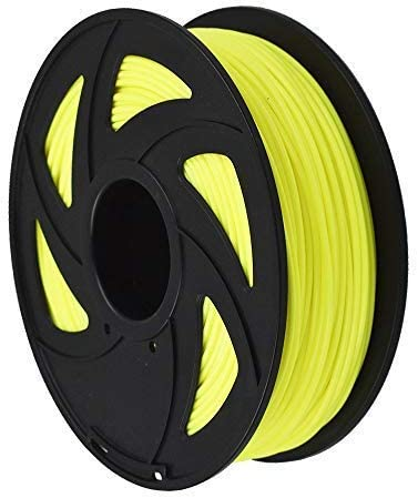 3D Printer Filament - 1KG(2.2lb) 1.75mm / 3 mm, Dimensional Accuracy PLA Multiple Color (Fluorescent Yellow,3mm)