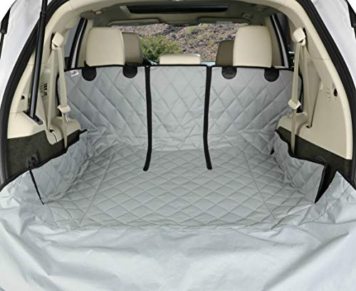 4Knines SUV Cargo Liner for Fold Down Seats - 60/40 Split and Armrest Pass-Through Compatible - USA Based Company (Extra Large, Grey) -  4Knines, LLC