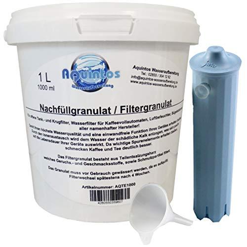 Aquintos Wasseraufbereitung Jura Claris Blue Refill-Set/Umbau Art. 67007