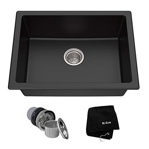 Top Mount 24-inch Single Bowl Stainless Steel Kitchen Sink Ebay