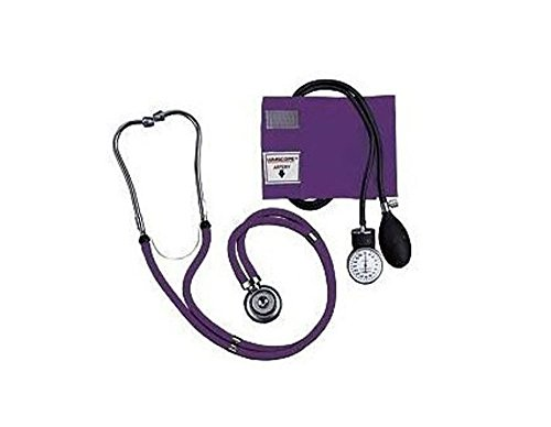 Learn More About Lumiscope Purple Blood Pressure and Stethoscope Kit