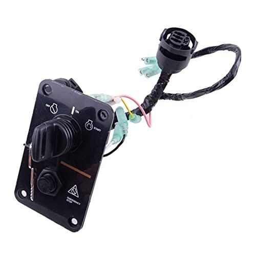 CITALL Außenborder-Einzelmotor-Schlüsselschalter-Montageplatte passend für Yamaha 704-82570-12-00