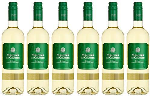Marqués de Cáceres Blanco Weißwein DOCa Rioja - Viura / Trocken Sparpaket (6 x 0.75l)