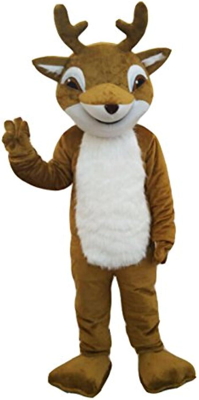 CosplayDiy Unisex Fawn Deer Mascot Costume Reindeer Mascot 196200