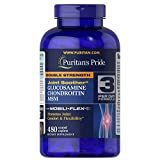 Puritans Pride Double Strength Glucosamine, Chondroitin and Msm Joint Soother,