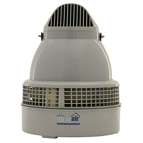 Ideal-Air 700860 Commercial-Grade Humidifier GSH75, 75 Pints Per Day, Grey