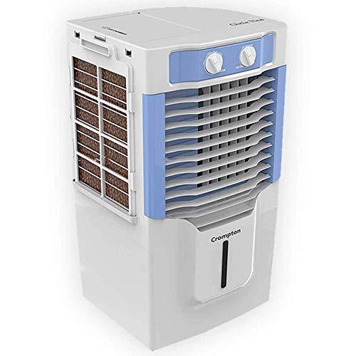 Crompton Ginie Neo(ACGC-PAC10) Tower Air Cooler - 10 Liter, Blue, White