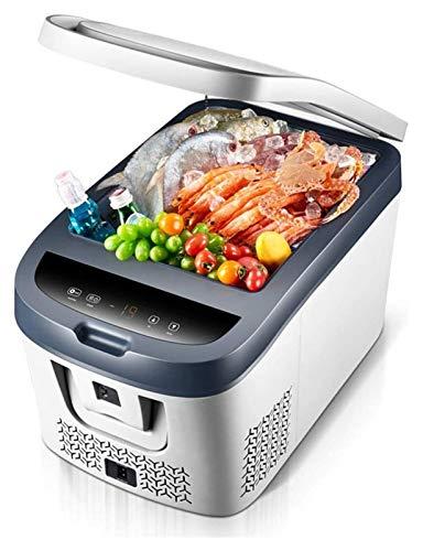 SHUHANG Refrigerador de automóviles 12V / 220-240V Caja de calefacción y refrigeración portátil para automóviles Adecuado para automóviles y hogares 28L para Viajes (Size : 50x36x33cm)