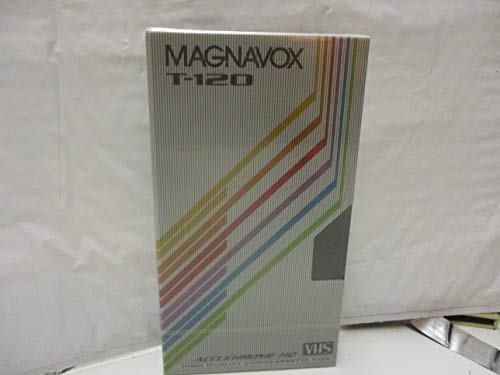 New Magnavox T-120 2/4/6 Hour Video Cassette Blank VHS Tape