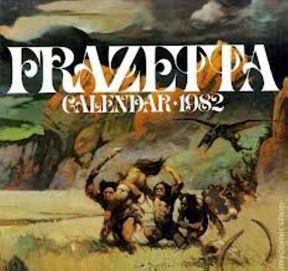 言語学円形参照するFrazetta calendar 1982