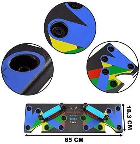 EDAHBJNEST5MK Push Up Board Musculation Le Multi-Position Ultra Push Syst/ème d?entra/înement Pliable BBLAC pour Rack de Fitness pour Le Fitness /à Domicile