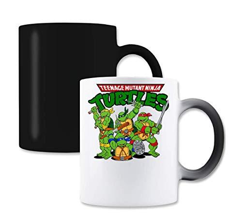 The Turtles Teenage Mutant Ninja Funny Logo Graphic Magische Farbe die Tee-Kaffeetasse ändert