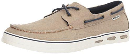 Columbia Vulc N Vent Shore Boots-Sandalen für Herren, Weiá (Silber Salbei/Collegiate Navy), 40 EU