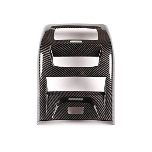 Wishful 3 Colores Estilo Estilo de Aire de Aire de Aire de ventilación de ventilación Cubierta de Marco ABS ABS Ajuste para BMW X3 G01 X4 G02 2020 Accesorios Interiores (Color Name : Carbon Fiber)