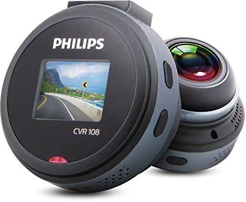 Philips CVR108/93 receptor multimedia para coche - Radio para coche (2,54 cm (1 pulgadas), 128 x 96 Pixeles, 50 x 36 x 52 mm) (Reacondicionado)